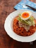 辛さマイルド☆ビビン麺(韓国風甘辛素麺)