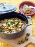【無水調理】重ねて煮るだけ、地中海風オリーブ煮