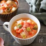 トマトとツナのミネストローネ♪【トマト缶なし簡単】