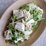 腸活&たんぱくで免疫UP!塩こうじヨーグルトのツナ豆腐サラダ