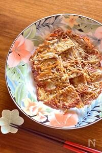 食材2つで簡単♡えのきチーズのおつまみ