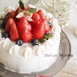 本格的☆基本のショートケーキ