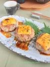 鶏ごぼうつくねのチーズ照り焼き§ごぼうと鶏の旨いコンビ