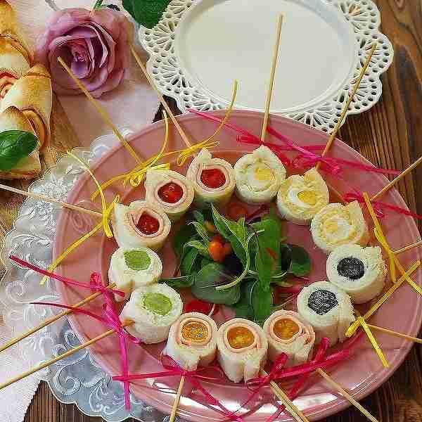 お弁当持ってお花見に行こう♡ボリューム満点のフィンガーフード【主食編】