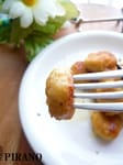 【137kcal】大豆おやきのペペロンチーノ♪