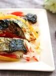 【215kcal】 焼きサバのお野菜マリネ♪