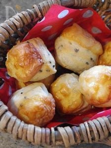 【楽パン♪】トースターでころころゴマチーズパン
