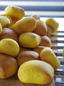 【楽パン♪】トースターでかぼちゃパン