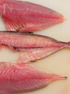 魚の三枚おろし