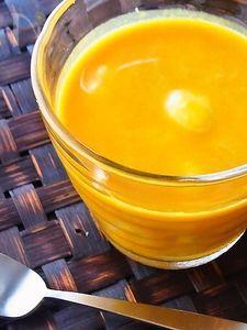 南瓜の豆乳お汁粉