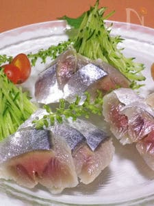 ◆洋風〆サンマ◆ 生野菜といただくオードブル