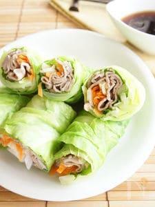 豚しゃぶ野菜ロール