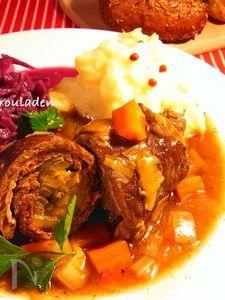 ドイツ風 牛肉ロールの煮込み - リンダールラーデン