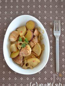 鶏肉と根菜のバルサミコ煮