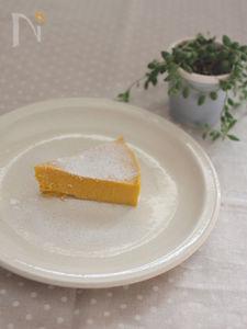 フードプロセッサーでかぼちゃのチーズケーキ