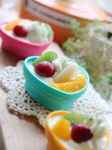 簡単☆ヨーグルトオレンジクリームムース