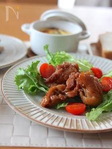 鶏肉のイチジク黒酢マリネ焼き