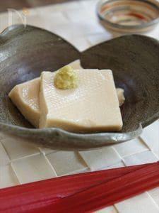 手作りもっちり胡麻豆腐
