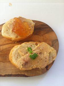 鴨フォアグラパテ 2種