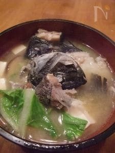 コラーゲンたっぷりなアラ汁 メジナ(グレ)料理⑦