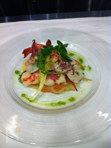 魚介サラダ
