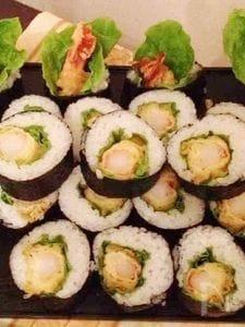 海老のてんぷらロール寿司❤