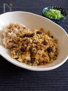 豆腐と野菜でベジドライカレー