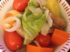 ぽかぽか温まる野菜のポトフ