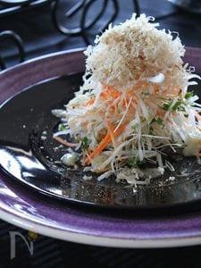 千切りサラダ・塩麹ドレッシング