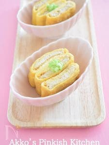 油あげの出汁巻き風 【作り置き油あげ】と卵で簡単おつまみ!