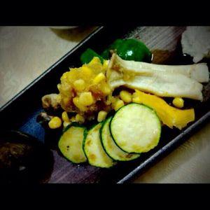 夏野菜のおろし和え