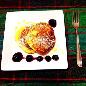 リコッタチーズのパンケーキ♡