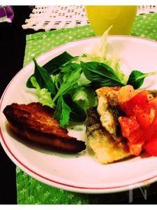 鯖のムニエル〜さっぱりトマトソースを添えて