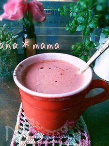 暖まる~♪生チョコで♪簡単ホットチョコレート♪