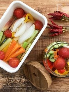さっぱりやみつき!夏野菜のピクルス