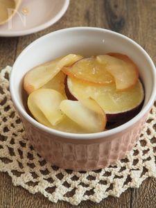 【常備菜】さつまいもとりんごのバター蒸し煮