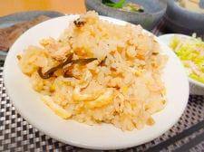 ツナと塩昆布の炊き込みご飯