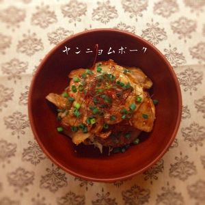 ヤンニョム•ポーク丼