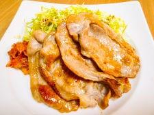 醤油麹で生姜焼き