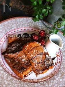 大好きな味♡コーヒーフレンチトースト♡