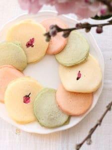 ひなまつり♪3色パンケーキ