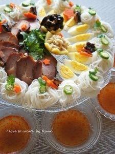 エスニックで七夕麺パーティー