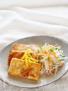 木綿豆腐の照焼き風