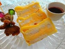 スライスチーズで作る!チキンとチーズのテリーヌ