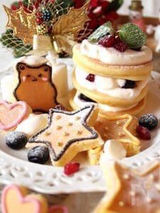 パンケーキをデコレーション☆デコパンケーキ