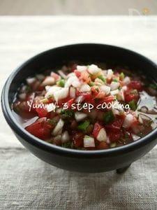 ★料理教室レシピ★ハラペーニョ入りのサルサ・メヒカーナ