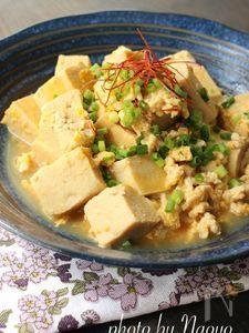 鶏と高野豆腐の卵とじ