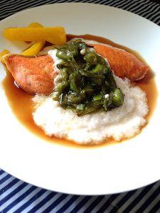 鮭のムニエル ネバリソース