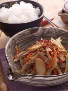 麺つゆで簡単きんぴら☆お弁当*作り置き
