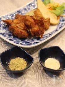 鶏の唐揚げ(ガパオ風味・柚子こしょう風味)
